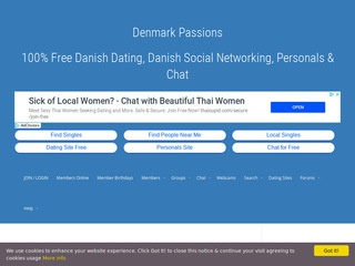 Denmark Passions Homepage Image